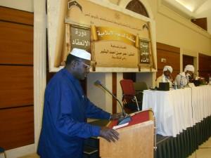 Malik Obama-speaking in sudan