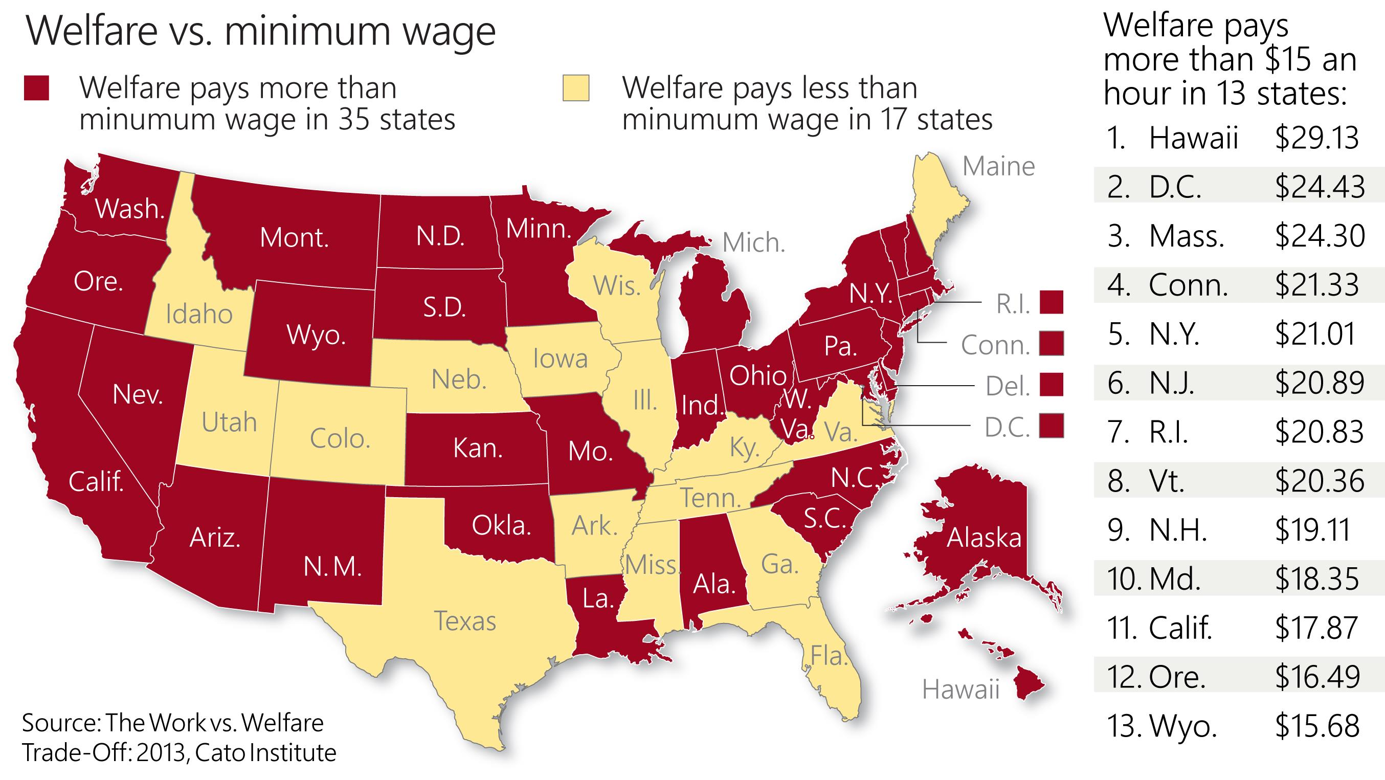 Gray Area - Us welfare map