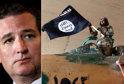 Cruz fires up conservatives, says bomb Islamic State 'back to the Stone Age'  8/31/14