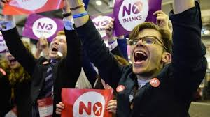 Scotland votes 'No' to independence  9/19/14