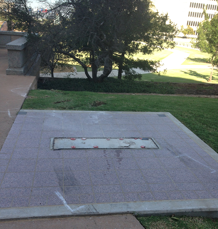 Assailant DESTROYS Ten Commandments Monument on Oklahoma Capitol Grounds  10/26/14