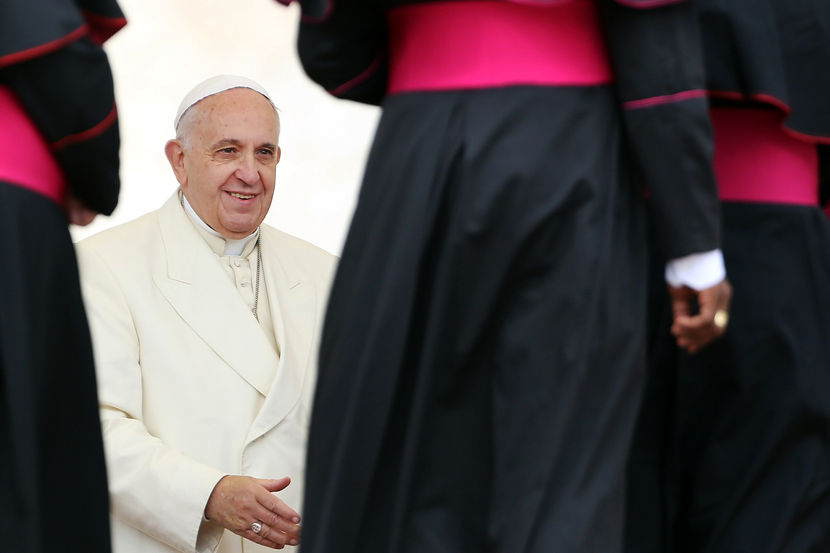 Pope Goes Rogue, breaks with tradition again   10/28/14