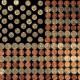 US Flag using coins