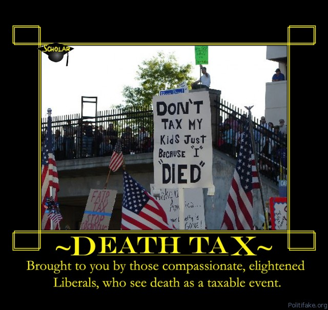 Death to the Death Tax  10/13/14