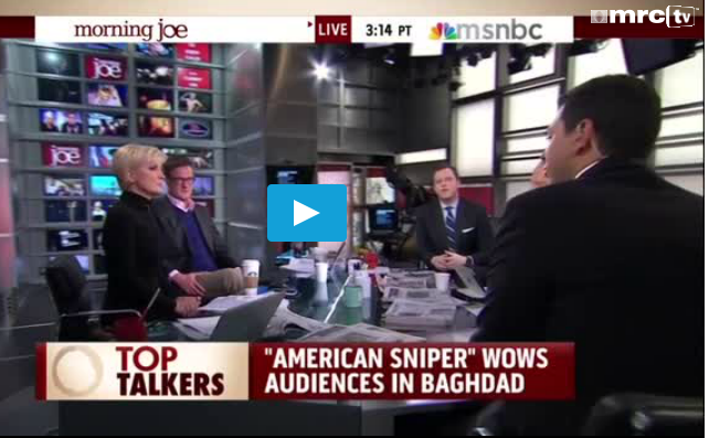 NBC's Mohyeldin Suggests Real American Sniper a 'Racist' Who Went on 'Killing Sprees'  1/29/15