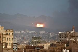 Yemen - Saudi air strike