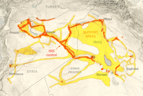 With ISIS in Cross Hairs, U.S. Holds Back to Protect Civilians  5/26/15