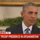 Obama announcing Afghan troop presence