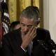 Obama tearful at Press Conf for gun regulations