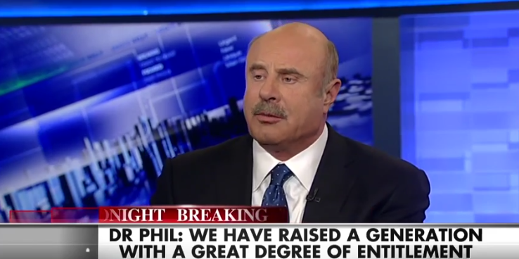 'Get a Damn Job': Dr. Phil on The 'Entitlement Culture' in America  2/6/16