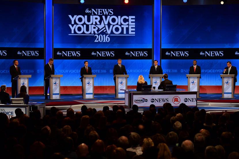 GOP Candidates Take Aim at Marco Rubio in Debate  2/7/16