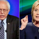 Sanders & Clinton in NH town hall