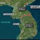 No Korea fires missiles into sea