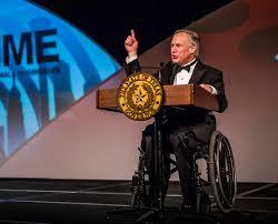 Coward Comments on Greg Abbott's Disability  4/28/16