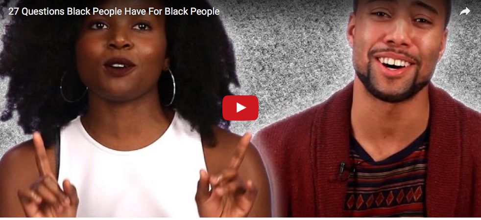 What's Wrong With Questions Black People Have For Black People?  4/20/16