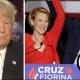 Trump on Cruz-Fiorina