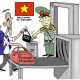 Obama Vietnam arms opposition cartoon