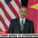 Obama announcing lifting arms ban with Vietnam