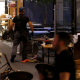 Israel terror attack in food market