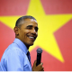 Obama at Vietnamese town hall mtg