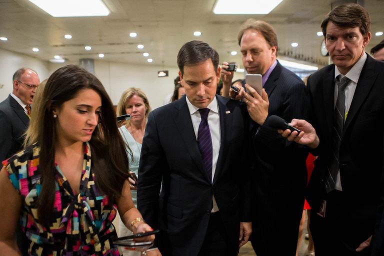In Reversal, Marco Rubio to Seek Re-election to Senate  6/22/16
