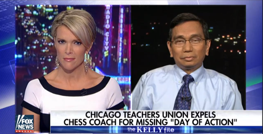 Chess coach at center of dispute with union speaks out  6/23/16