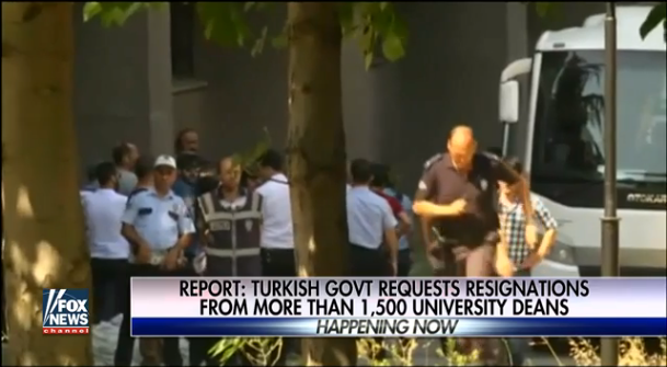 Turkey reportedly issues warrants for 42 journalists in crackdown after failed coup  7/25/16