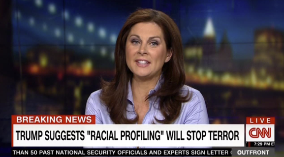 CNN Defends Adding 'Racial' to Trump Profiling Comments, Insists They Knew What He Meant 9/27/16