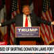 Trump Foundation skirting donation laws