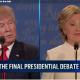 Trump & Clinton at 3rd debate