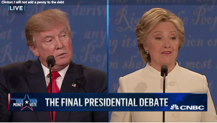 What Clinton and Trump Wouldn't Say About the Budget at Debate   10/20/16