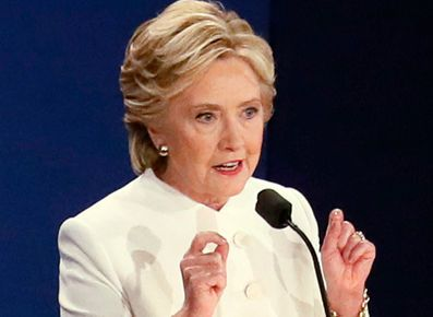 ONSTAGE SLIPUP? Clinton may have revealed sensitive info at debate  10/20/16