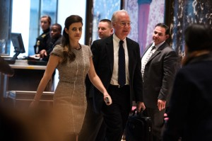 Tom Price at Trump Tower