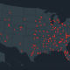 Everytown school shooting map