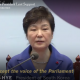 South Korea's Park Geun Hye after impeachment vote