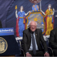 Cuomo & Bernie Sanders & CCNY William Thompson