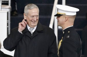 MATTIS_arriving at the inauguration