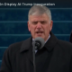Rev Graham at inauguration