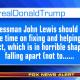 Trump tweet to Lewis 1