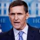 Flynn speaking at WH