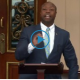 Sen Scott speaking in Senate