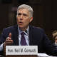 Gorsuch testifying before Congress