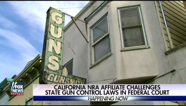 NRA affiliate sues California over gun-control laws that 'demonize' firearm owners  4/25/17