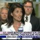 Nikki Haley announcing US lead Boycott of No Korea