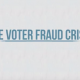 Voter Fraud Crisis title page - JW