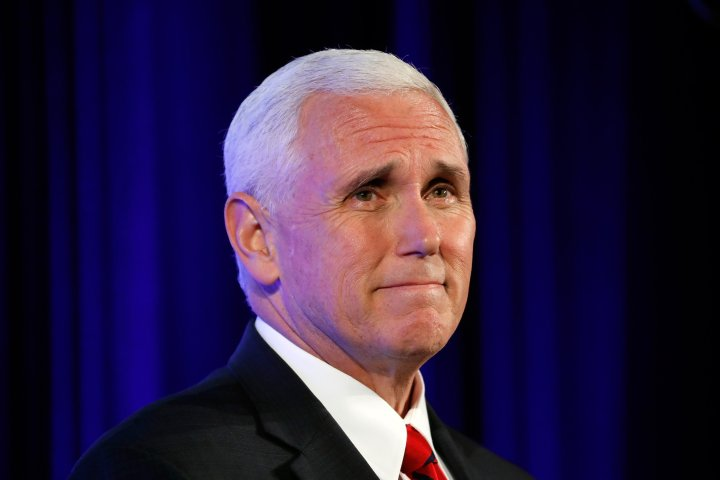 White House announces Pence's Middle East visit dates after month's delay  1/19/18