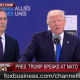 Trump at NATO speech
