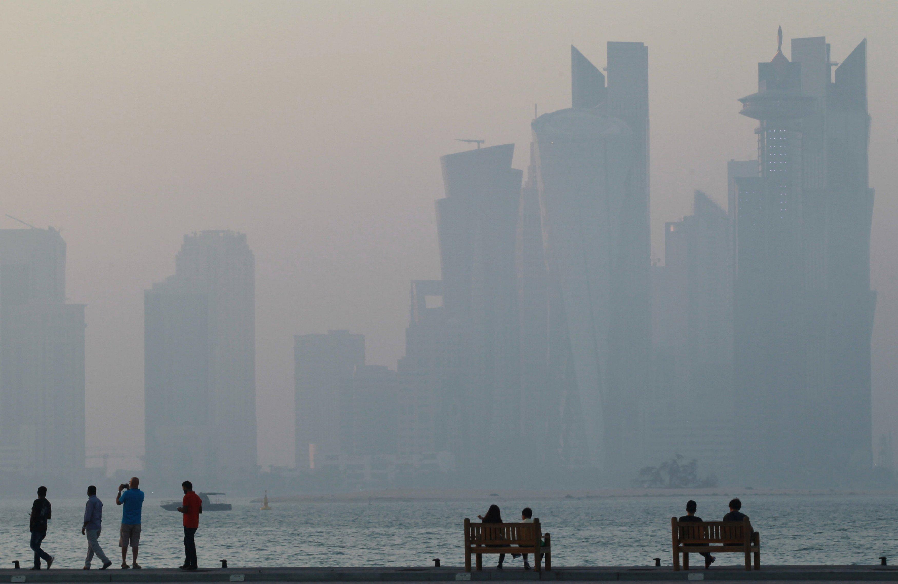 Doha, Qatar- corniche