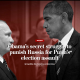 Putin & Obama scowl