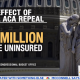 ACA full repeal leaves 33M uninsured
